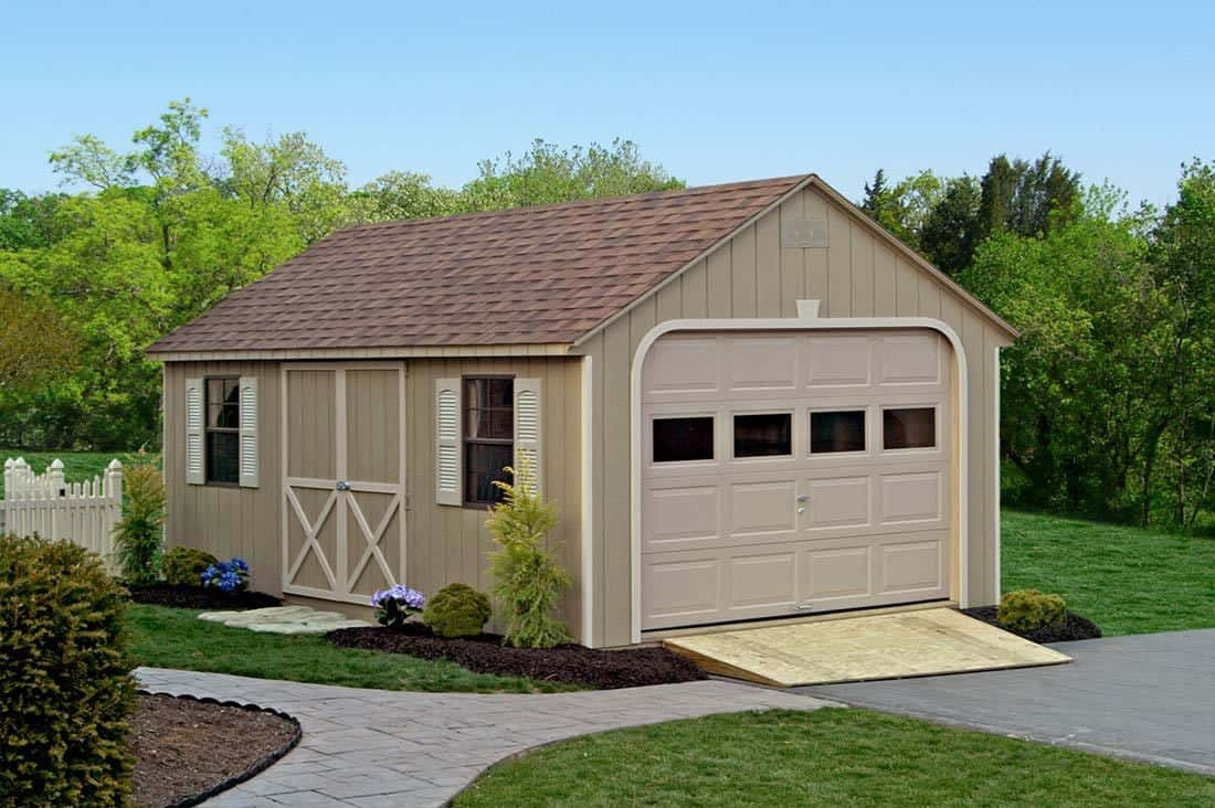 Cape cod sheds for Cape cod garage